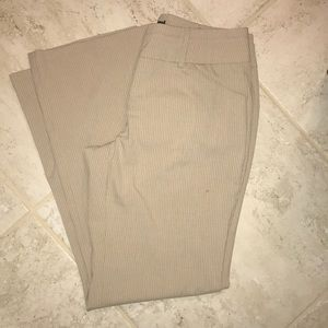 New York and Company Tan Trousers